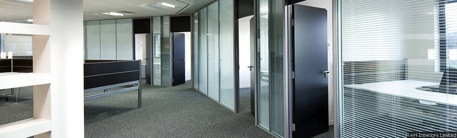Polar Double Glazed Office Partitioning