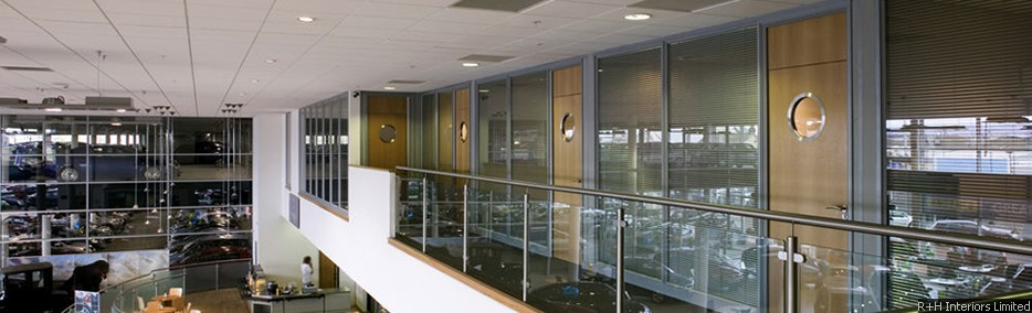 Komfire 75 Office Partitioning