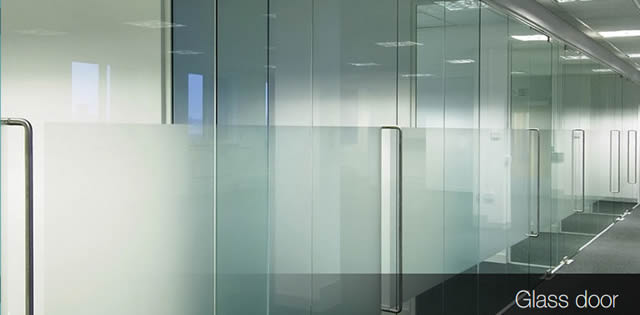 office glass door. Glass Doors For Office Partitioning Door O